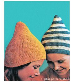 Instant Download Knitting Pattern Knit Pixie by DigitalPatternShop, $2.75