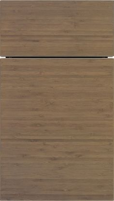 Summit Horizontal cabinet doors make going natural easy with eco-friendly veneers, both artistic and realistic. The square outside profile has gentle corner rounding for a clean, modern feel from Kitchen Craft Cabinetry.