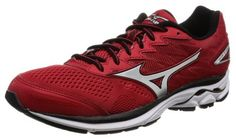 MIZUNO Running shoes WAVE RIDER 20 J1GC1703 Red X silver