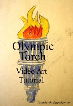 FREE Art Lessons: Olympics, Valentines and more www.hodgepodge.me