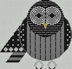 Charley Harper barred owl