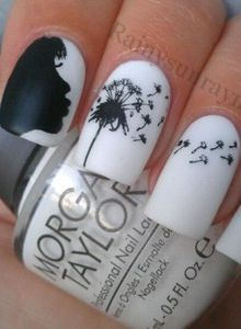 Dandelion Nails by Kristin Day!