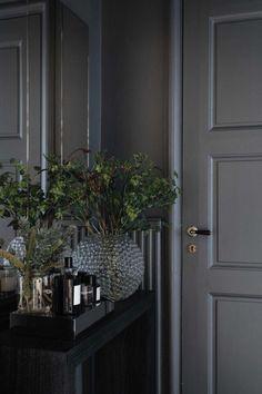 Tour an Elegant and Characterful Stockholm Apartment - Nordic Design Elegant Home Decor, Elegant Homes, Bedroom Minimalist, Stockholm Apartment, Interior Decorating, Interior Design, Decorating Tips, Dark Interiors, Nordic Design