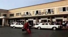 Old Luqa Airport Arrivals section Malta History, Then And Now Pictures, Malta Island, 50 Years Ago, Southern Europe, Old Photos, Maltese, Homeland, Buildings