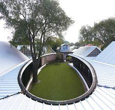 Architecture Photography: The Subiaco Oval Courtyard / Luigi ...