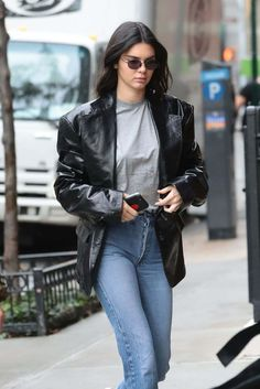 Kendall Jenner Heading To Adidas Photoshoot In New York