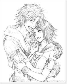 Tidus and Yuna, Final Fantasy X