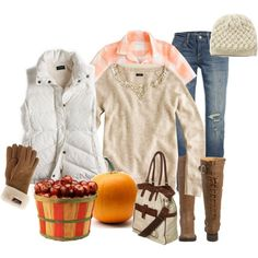 Pumpkin & Apple Picking!, created by kittywitty.polyvore.com