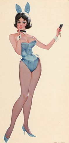 pmatebunny:Don LewisRoom 206, Playboy Club VIP magazine...