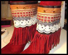 El Taller de Chapucina: Cubre botas