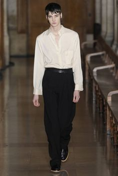 Male Fashion Trends: Lemaire Fall/Winter 2016/17 - Paris Fashion Week