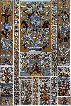 Орнамент эпохи барокко. 11