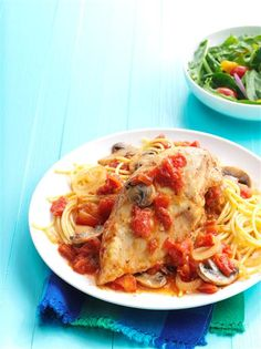 Contest-Winning Chicken Cacciatore Recipe -My husband and I own and operate a busy farm. There are days when there's just no time left for cooking! It's really nice to be able to come into the house at night and smell this wonderful dinner simmering. —Aggie Arnold-Norman, Liberty, Pennsylvania
