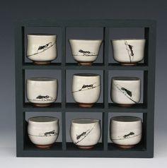 accessCeramics: new images by Betsy Williams Pottery Mugs, Ceramic Pottery, Pottery Ideas, Ceramic Cups, Ceramic Art, Tea Bowls, Ants, Asian Art, Decoration