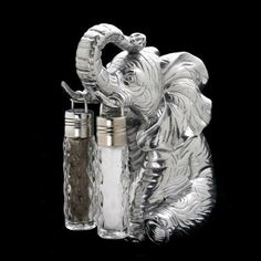 Arthur Court Elephant Hanging Salt and Pepper Set ** See this great product.