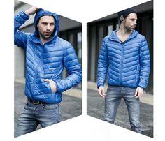 Pánská zimní lehká prošívaná bunda modrá – Velikost L Na tento produkt se vztahuje nejen zajímavá sleva, ale také poštovné zdarma! Využij této výhodné nabídky a ušetři na poštovném, stejně jako to udělalo již velké … Men's Jackets, Winter Jackets, Fashion, Winter Coats, Moda, Fashion Styles, Fashion Illustrations