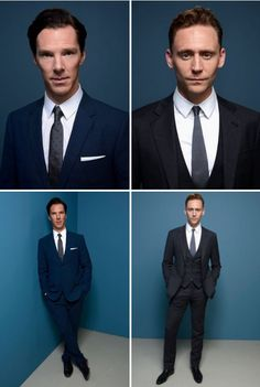British men in well tailored suits...*swoon*