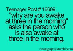 Teenager Posts Of The Week: The 5 Types Of Fear