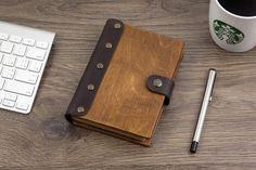 Leather Notebook, Wooden Notebook, Notebook, Pocket Notebook, Blank Notebook, Leather Sketchbook, Travel Journal, Leather Journal, Journal