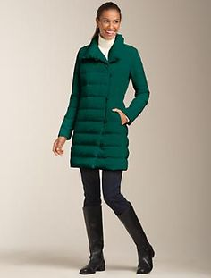 Talbots - Refined Puffer Coat | Outerwear | Misses