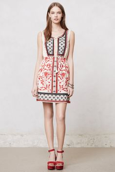 Kasi Embroidered Dress - Anthropologie.com