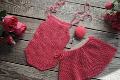 Newborn Photo Props, Newborn Photos, Baby Photos, Loom Knitting, Hand Knitting, Props For Sale, Girls Rompers, Baby Girl Newborn, Crochet Bikini