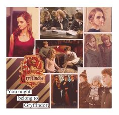 """You might belong to Gryffindor"" by nika-love ❤ liked on Polyvore featuring art and BOTFFSEASON3"