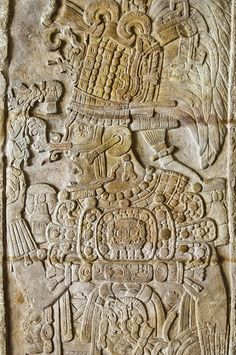Detalle de estela Maya by GalasdeGuatemala.com, via Flickr Mayan History, Ancient History, Arte Tribal, Tribal Art, Native American Art, American Indians, Mexico Art, Paludarium, Indigenous Art