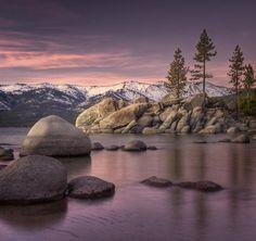 Lake Tahoe - Sierra Nevada Mountains - Pixdaus