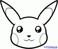 Another Very Popular Face Going Up Right Now Is On The Mascot For Pokemon This Tutorial Will Show You How To Draw Pikachu Easy Step By