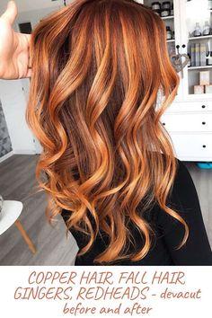 Copper Balayage, Balayage Hair, Honey Balayage, Brown Balayage, Brown Blonde, Short Hair Styles Easy, Medium Hair Styles, Natural Hair Styles, Red Copper Hair Color