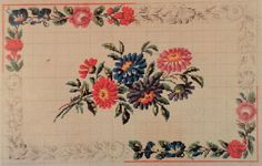 A Very Rare Berlin Wool Work Pattern