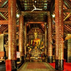 Ancient Lao Temple