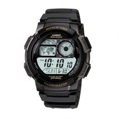e28ab6755 Casio 3 Hand Analog Easy Reader Watch, Adult Unisex, black  #blackgoldsilver. Avatalavera · black gold silver · Relógio Technos ...