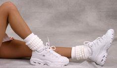 scrunchie socks...in Live Oak, they were called Merle Norman socks. :)