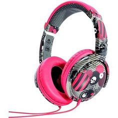 New #idance #ibiza dj over ear headphone - #pink/grey/white,  View more on the LINK: http://www.zeppy.io/product/gb/2/181963938827/