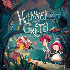 Book cover project - Hansel and Gretel on Behance