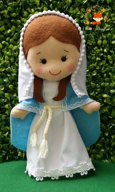 Nativity Ornaments, Crochet Christmas Ornaments, Christmas Nativity, A Christmas Story, Felt Ornaments, Felt Diy, Felt Crafts, Diy And Crafts, Catholic Crafts
