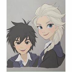 "Hiro and Elsa ""Ravenclaw"" (Hogwarts)"
