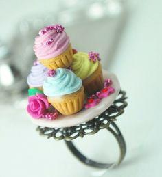 cupcake ring   Tumblr