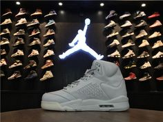 size 40 99fe3 79c30 Air Jordan 5 Retro Premium 'Pure Platinum' : 881432 003 - Air Jordan 5