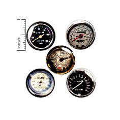 Speedometer Buttons 5 Pack of Dieselpunk Backpack Pins Lapel Pins Badges Brooches Gauges Cool Steampunk Pinbacks Gift Set 1 Funny Buttons, Work Jokes, Bag Pins, Work Gifts, Bee Gifts, Steampunk Design, Cheap Gifts, Save The Bees, Cute Pins