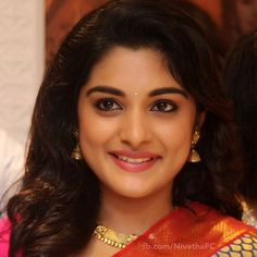 Nivetha Thomas (born 2 November is an Indian film actress who appears in Malayalam, Telugu, Tamil language films. Indian Actress Photos, Indian Film Actress, South Indian Actress, Indian Actresses, Beauty Full Girl, Cute Beauty, Beauty Women, Cute Celebrities, Indian Celebrities
