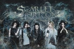 """Scarlet Horizon is a Chinese visual rock/metalcore band that debuted in October last year. They have announced the release of a new mini album titled """"MIST"""" and you can listen to a samp… Visual Kei, Scarlet, Mini Albums, Mists, Rock, Youtube, Anime, Drums, Otaku"""