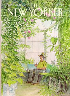 The New Yorker - Monday, January 1983 - Issue # 3024 - Vol. 58 - N° 50 - Cover by Charles Saxon New Yorker Covers, The New Yorker, Poster Wall, Poster Prints, Art Prints, Photo Wall Collage, Collage Art, Capas New Yorker, Poster Retro