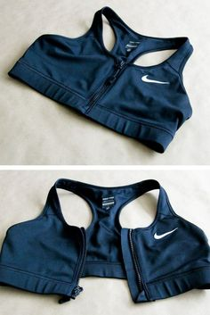for the love of Nike / cool zipper bra!for the love of Nike / cool zipper bra! Sporty Outfits, Athletic Outfits, Mode Outfits, Athletic Wear, Fashion Outfits, Workout Attire, Workout Wear, Workout Outfits, Workout Style