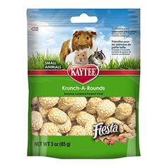 Kaytee Fiesta Krunch-A-Rounds Treat for Small Animals, 3-Ounce