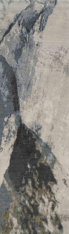 Art for the floor. 'Trilogy No.02_Original'   80% Tibetan wool 20% Chinese silk   150 knot/inch