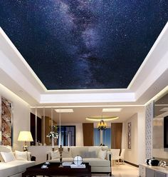 Milky Way Wallpaper Peel and Stick Commercial Grade Mural – Galaxy Art Ceiling Murals, Bedroom Ceiling, Wall Murals, Floor Murals, Ceiling Ideas, Black Holes In Space, Galaxy Bedroom, Milky Way Photos, Galaxy Images
