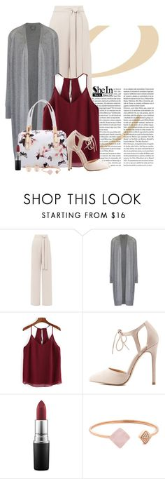 """""""Happy moments"""" by yonnama ❤ liked on Polyvore featuring Bench, Charlotte Russe, MAC Cosmetics, Michael Kors, Kenneth Jay Lane, longcardigan and shein"""